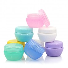 Cosmetic Plastic  Jars, , 5/10/20/30/50 ml
