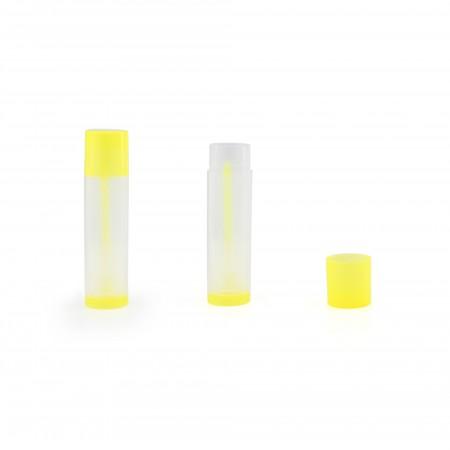 LIP BALM Tubes, Colored + Clear, Transparent