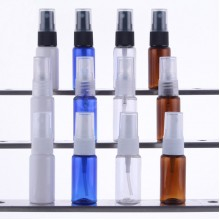 15ml PET Bottles w/ Fine Mist Spray Pump