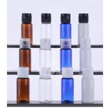 15ml PET Bottles w/ Disc Top Cap