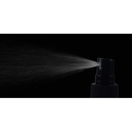 50ml PET Bottles w/ Black Spray Pump Cap