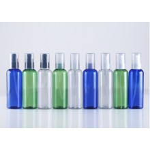 100ml PET Bottles - Round - W/ Treatment Pump