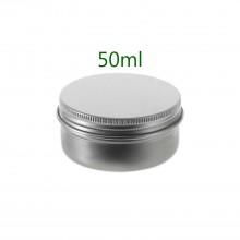 50ml Silver Tins