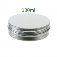 100ml Silver Tins