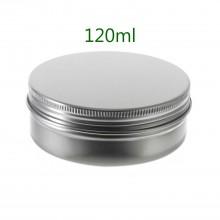 120ml Silver Tins