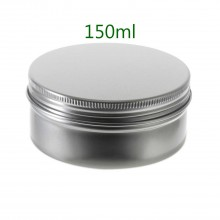 150ml Silver Tins