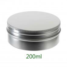 200ml Silver Tins