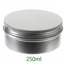 250ml Silver Tins