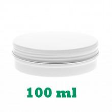 100ml White Tins