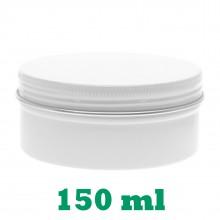 150ml White Tins