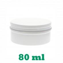 80ml White Tins