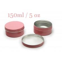 150ml Pink Tins