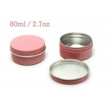 80ml Pink Tins