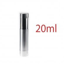 Airless Pump bottles - Silver 20ml