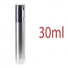 Airless Pump bottles - Silver 30ml