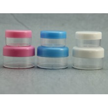 Cosmetic Pots, 10ml / 20ml , white/pink/blue